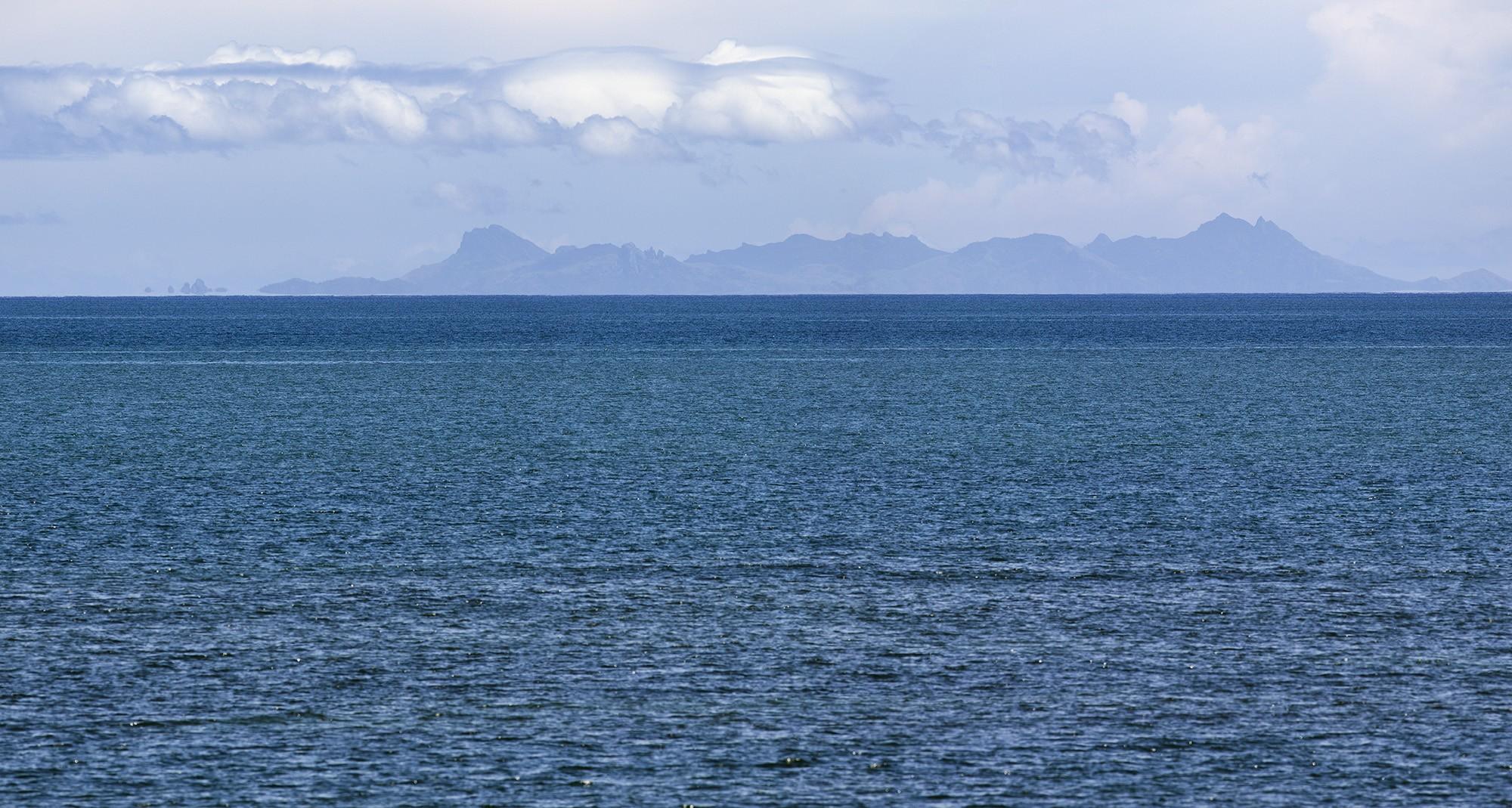 Calm Blue View