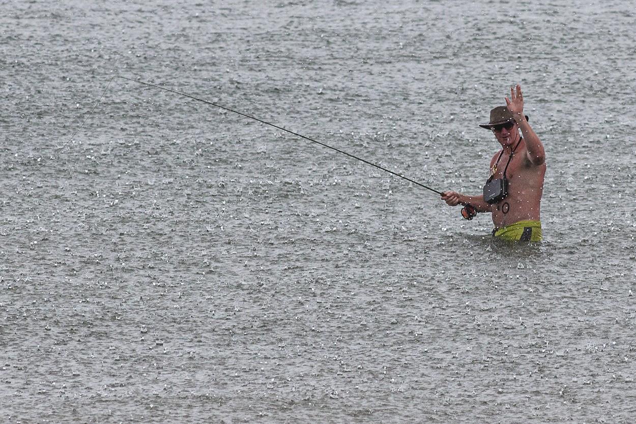 Rain Fishing